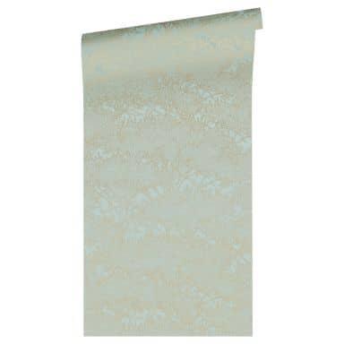 Architects Paper Papier Peint Design Absolutely Chic Floral Bleu Vert Or