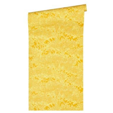 Architects Paper Vliestapete Absolutely Chic Blumentapete floral gelb