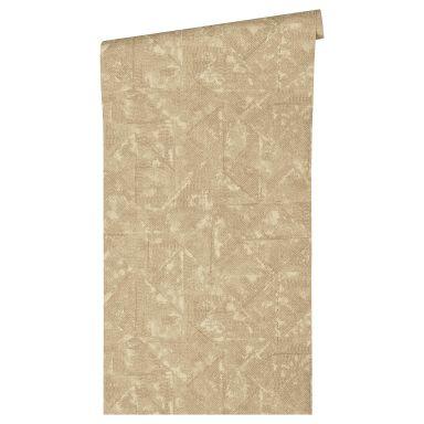 Architects Paper Vliestapete Absolutely Chic Vintagetapete beige, braun, metallic