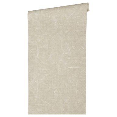 Architects Paper Papier Peint Design Absolutely Chic uni Gris Beige Argent