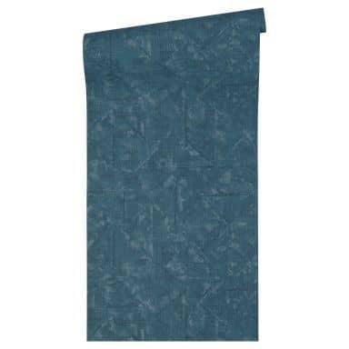 Architects Paper Vliestapete Absolutely Chic Vintagetapete blau, grau, metallic