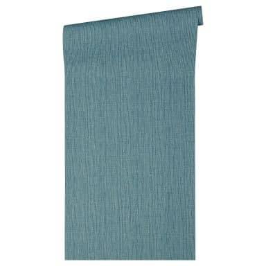 Architects Paper Vliestapete Absolutely Chic Unitapete einfarbig blau, metallic
