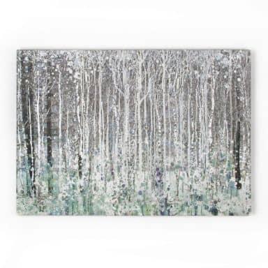 Leinwandbild Watercolour Woods