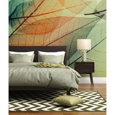 Livingwalls Fotobehang Designwalls Limpid Leaf