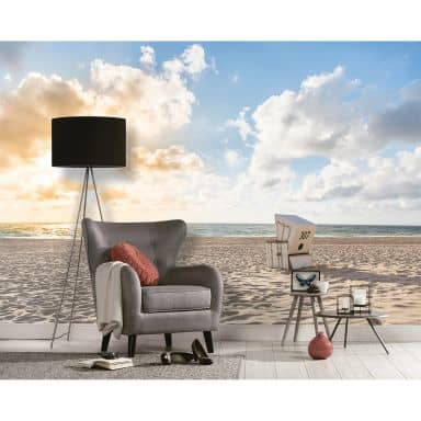 Livingwalls Fotomurale Designwalls - Spiaggia
