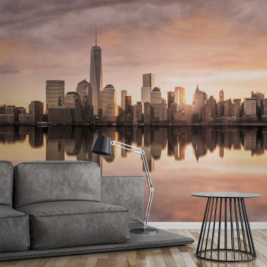 Livingwalls Fototapete Designwalls Skyline New York Stadt