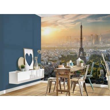 Livingwalls Fototapete Designwalls Eiffel Tower Stadt