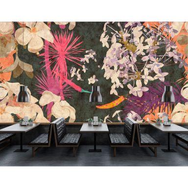 Livingwalls Fotomurale Walls by Patel 2 vintage bouquet 2