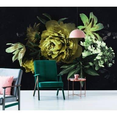 Behang Grote Bloemen.Fotobehang Bloemen Wall Art Nl