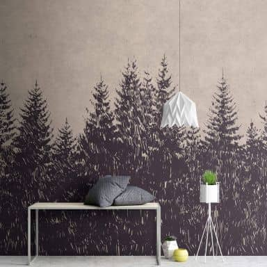 Livingwalls Photo Wallpaper Walls by Patel black forest 1