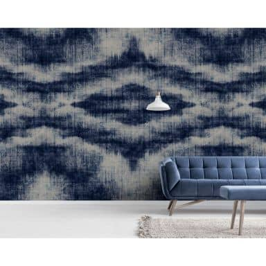 Livingwalls Photo Wallpaper Walls by Patel indigo canvas 1