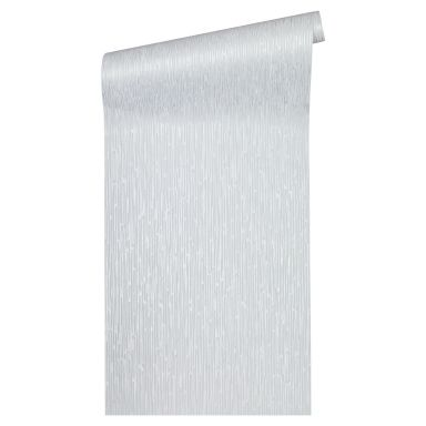 Architects Paper Vliestapete Alpha Unitapete einfarbig grau, metallic