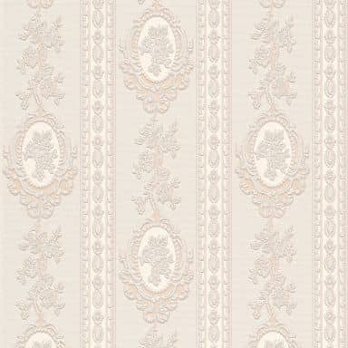 A.S. Création wallpaper Belle Epoque beige, cream, metallic