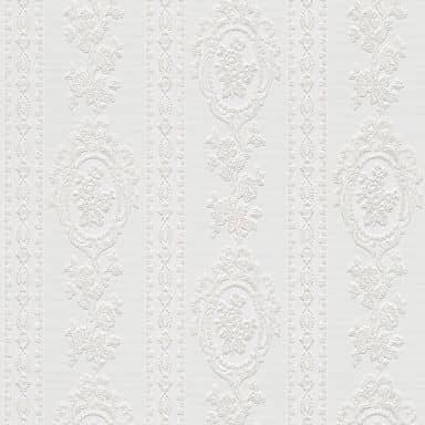 A.S. Création Tapete Belle Epoque Barocktapete mit Ornamenten weiß
