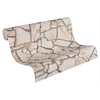 A.S. Création behang Best of Wood`n Stone 2nd Edition beige, bruin, grijs