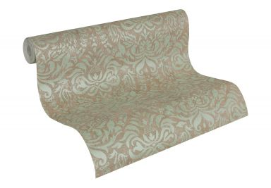 A.S. Création Wallpaper Bohemian Brown, Green, Metallic