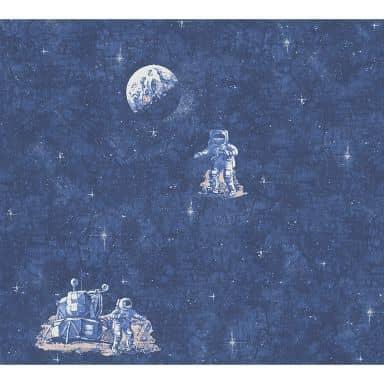A.S. Création paper wallpaper Boys & Girls 5 blue