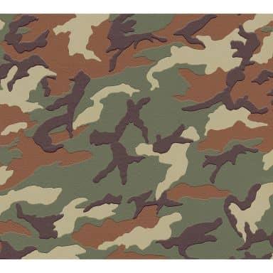 A.S. Création Vliestapete Boys and Girls Kinderzimmertapete Camouflage braun, grün