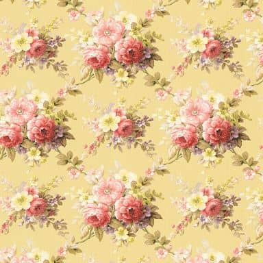 A.S. Création non-woven wallpaper Château 5 multicolored, yellow