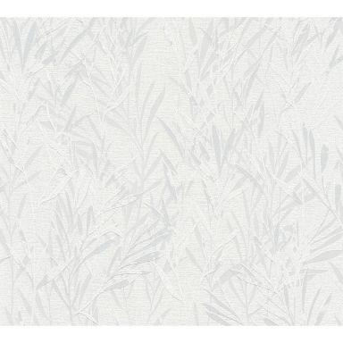 A.S. Création Vliestapete Flavour Blumentapete floral grau, weiß