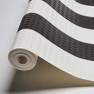 Karl Lagerfeld Wallpaper Vliestapete Stripe schwarz, weiß