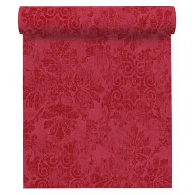 A.S. Création Vliestapete Memory Barocktapete mit Ornamenten Glitzereffekt metallic, rot