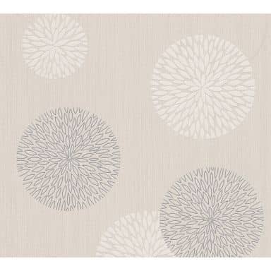 A.S. Création Wallpaper Best of Vlies 2016 Beige, Cream, Metallic