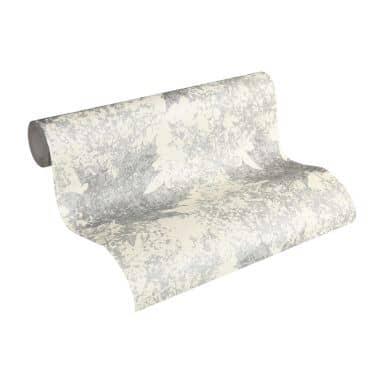 A.S. Création non-woven wallpaper Borneo cream, metallic