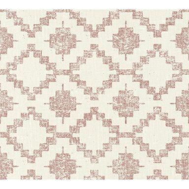 A.S. Création Fleece Wallpaper California cream, red