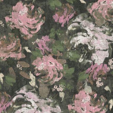 A.S. Création Vliestapete Character Blumentapete floral grau, grün, rosa