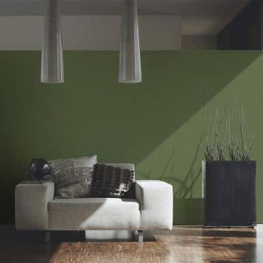 A.S. Création Vliestapete Character Unitapete einfarbig grün