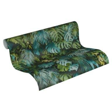 A.S. Création Vliestapete Greenery Dschungeltapete blau, grün
