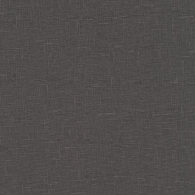 A.S. Création Vliestapete Linen Style Tapete Uni schwarz