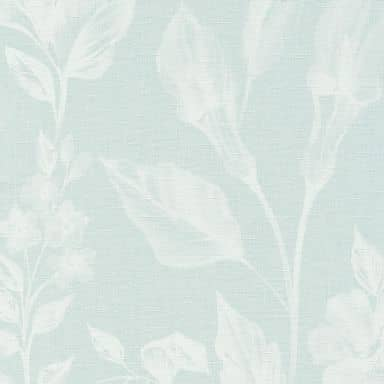 A.S. Création Vliestapete Linen Style Blumentapete floral blau, weiß