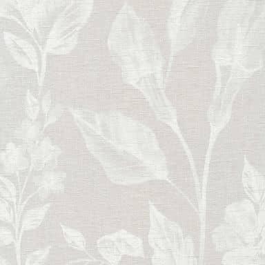 A.S. Création Vliestapete Linen Style Blumentapete floral beige, grau, weiß