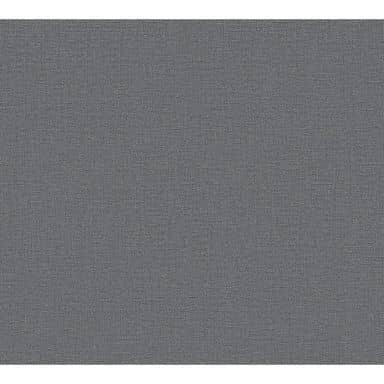 A.S. Création Vliestapete Secret Garden Unitapete einfarbig grau, schwarz