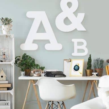 Lettres décoratives à accrocher - Courrier