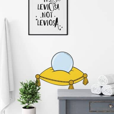 Bibi Blocksberg  - Witch Ball Wall sticker