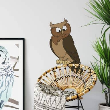 Bibi & Tina - the Owl Wall sticker
