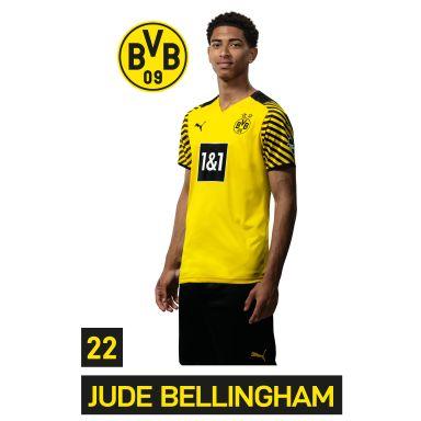 Muursticker BVB Speler Jude Bellingham 2021
