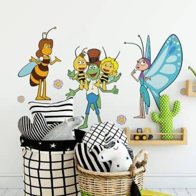 Wandtattoo Die Biene Maja und Freunde