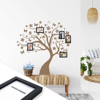 Dream Tree incl. 5 Photo Frames Wall sticker