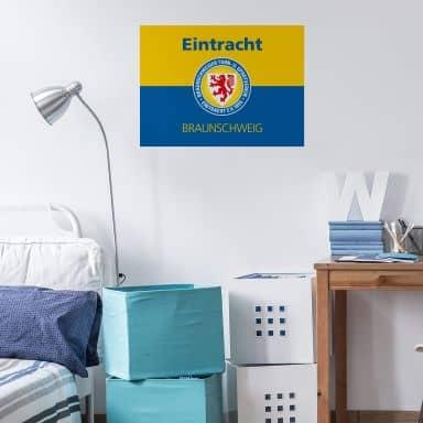 Wandtattoo Eintracht Braunschweig Banner