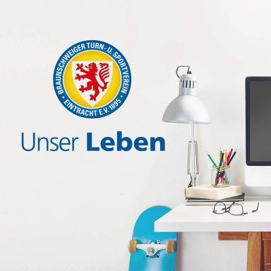 Wandtattoo Eintracht Braunschweig Unser Leben