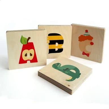 Buchstabensteine - Kinderalphabet