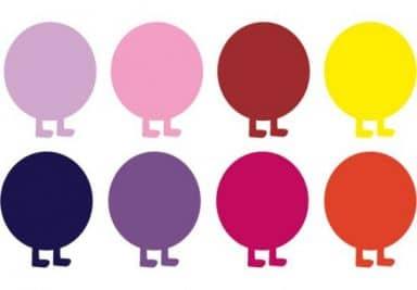 Sticker mural - Extension Chenille Multicolore