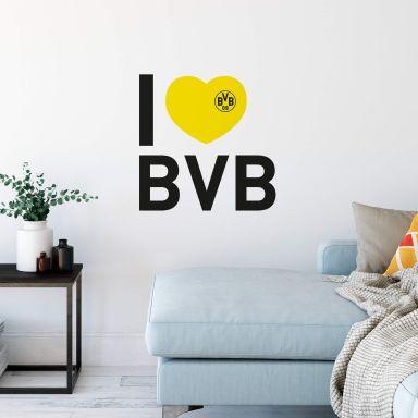 Wandtattoo I love BVB