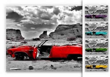 Forex Print - Red Cadillac