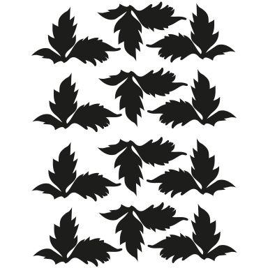 Muurstickers Bladeren Set #16