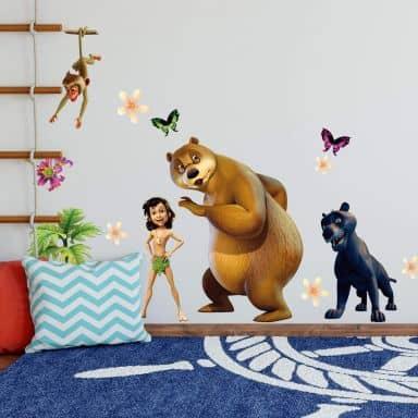 Junglebook Team 2 Wall sticker